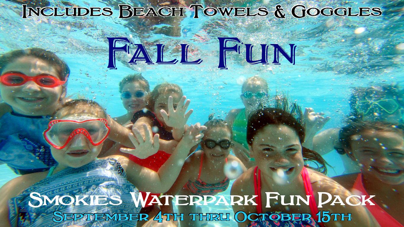 Fall Waterpark Fun